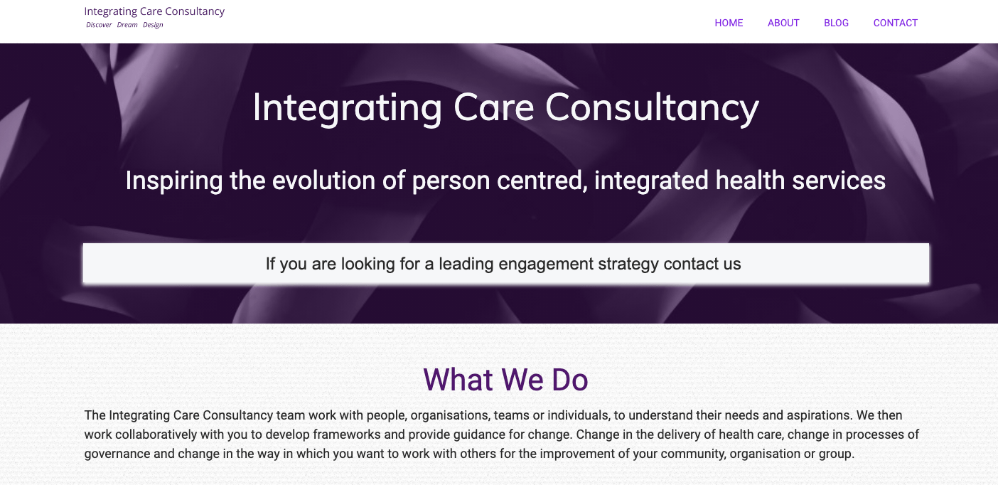 Integrating Care Consultancy